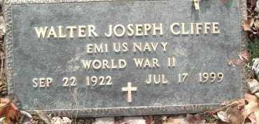 CLIFFE, WALTER JOSEPH - Montgomery County, Virginia | WALTER JOSEPH CLIFFE - Virginia Gravestone Photos