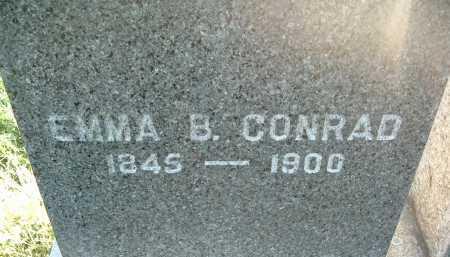 CONRAD, EMMA B. - Montgomery County, Virginia   EMMA B. CONRAD - Virginia Gravestone Photos