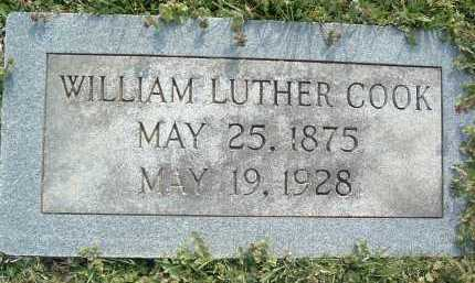 COOK, WILLIAM LUTHER - Montgomery County, Virginia | WILLIAM LUTHER COOK - Virginia Gravestone Photos