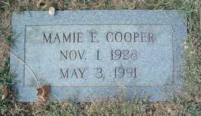 COOPER, MAMIE E. - Montgomery County, Virginia   MAMIE E. COOPER - Virginia Gravestone Photos