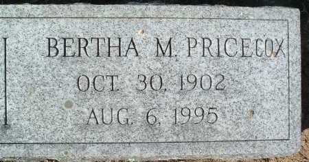 COX, BERTHA M. - Montgomery County, Virginia | BERTHA M. COX - Virginia Gravestone Photos
