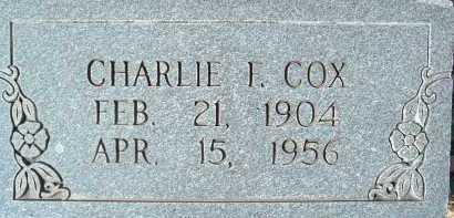 COX, CHARLIE F. - Montgomery County, Virginia | CHARLIE F. COX - Virginia Gravestone Photos