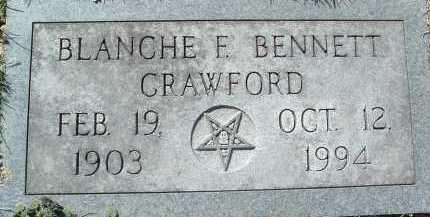 CRAWFORD, BLANCHE F. - Montgomery County, Virginia | BLANCHE F. CRAWFORD - Virginia Gravestone Photos