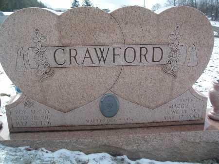 CRAWFORD, ROY MCCOY - Montgomery County, Virginia | ROY MCCOY CRAWFORD - Virginia Gravestone Photos