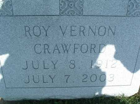 CRAWFORD, ROY VERNON - Montgomery County, Virginia | ROY VERNON CRAWFORD - Virginia Gravestone Photos