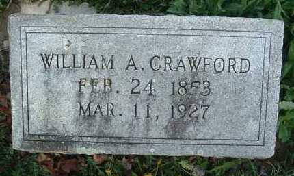 CRAWFORD, WILLIAM A. - Montgomery County, Virginia | WILLIAM A. CRAWFORD - Virginia Gravestone Photos