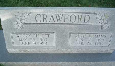 CRAWFORD, WOODY ELLIOTT - Montgomery County, Virginia | WOODY ELLIOTT CRAWFORD - Virginia Gravestone Photos