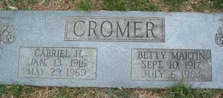 CROMER, CABRIEL H. - Montgomery County, Virginia | CABRIEL H. CROMER - Virginia Gravestone Photos