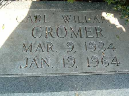 CROMER, CARL WILLARD - Montgomery County, Virginia   CARL WILLARD CROMER - Virginia Gravestone Photos