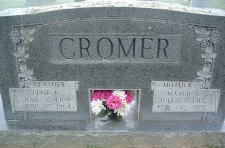 CROMER, MARGIE C. - Montgomery County, Virginia | MARGIE C. CROMER - Virginia Gravestone Photos
