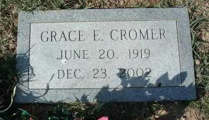 CROMER, GRACE E. - Montgomery County, Virginia | GRACE E. CROMER - Virginia Gravestone Photos