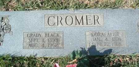 CROMER, GRADY BLACK - Montgomery County, Virginia | GRADY BLACK CROMER - Virginia Gravestone Photos