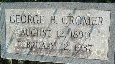 CROMER, GEORGE B. - Montgomery County, Virginia | GEORGE B. CROMER - Virginia Gravestone Photos