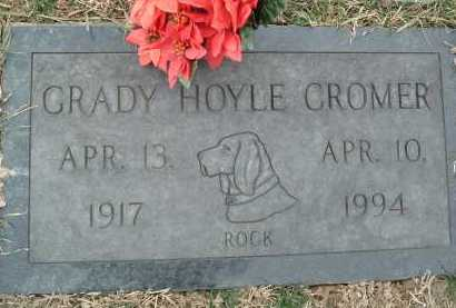 CROMER, GRADY HOYLE - Montgomery County, Virginia | GRADY HOYLE CROMER - Virginia Gravestone Photos
