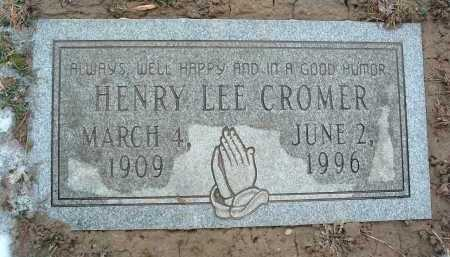 CROMER, HENRY LEE - Montgomery County, Virginia | HENRY LEE CROMER - Virginia Gravestone Photos