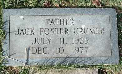 CROMER, JACK FOSTER - Montgomery County, Virginia | JACK FOSTER CROMER - Virginia Gravestone Photos