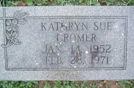 CROMER, KATHRYN SUE - Montgomery County, Virginia   KATHRYN SUE CROMER - Virginia Gravestone Photos