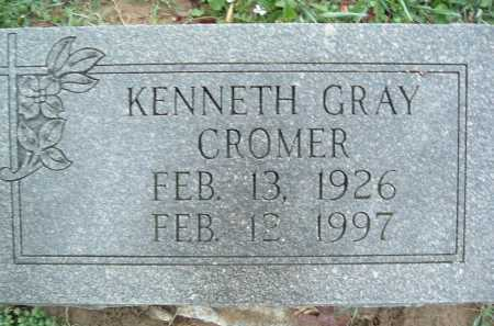 CROMER, KENNETH GRAY - Montgomery County, Virginia   KENNETH GRAY CROMER - Virginia Gravestone Photos