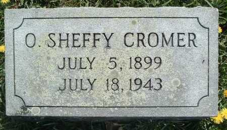 CROMER, O. SHEFFY - Montgomery County, Virginia | O. SHEFFY CROMER - Virginia Gravestone Photos