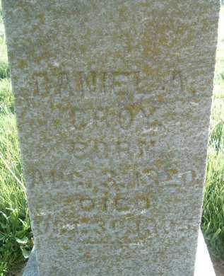 CROY, DANIEL A. - Montgomery County, Virginia   DANIEL A. CROY - Virginia Gravestone Photos