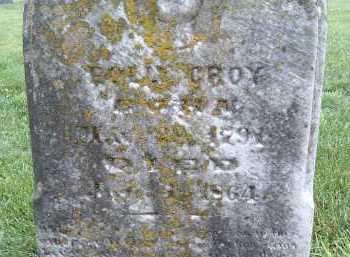 CROY, DOLLY - Montgomery County, Virginia | DOLLY CROY - Virginia Gravestone Photos