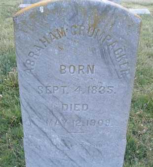 CRUMPACKER, ABRAHAM - Montgomery County, Virginia | ABRAHAM CRUMPACKER - Virginia Gravestone Photos