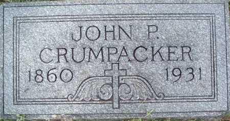 CRUMPACKER, JOHN P. - Montgomery County, Virginia   JOHN P. CRUMPACKER - Virginia Gravestone Photos