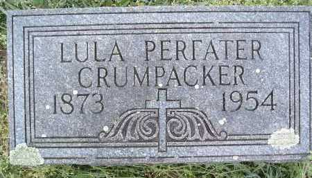 CRUMPACKER, LULA - Montgomery County, Virginia   LULA CRUMPACKER - Virginia Gravestone Photos