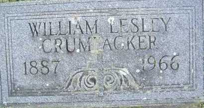 CRUMPACKER, WILLIAM LESLEY - Montgomery County, Virginia | WILLIAM LESLEY CRUMPACKER - Virginia Gravestone Photos