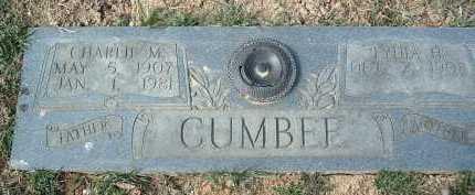CUMBEE, CHARLIE M. - Montgomery County, Virginia   CHARLIE M. CUMBEE - Virginia Gravestone Photos