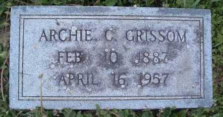 GRISSOM, ARCHIE C. - Montgomery County, Virginia | ARCHIE C. GRISSOM - Virginia Gravestone Photos