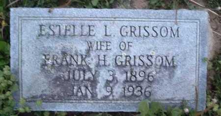GRISSOM, ESTELLE L. - Montgomery County, Virginia | ESTELLE L. GRISSOM - Virginia Gravestone Photos