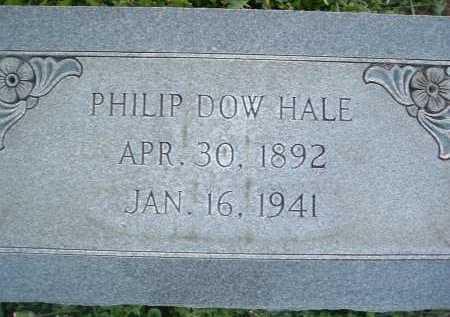 HALE, PHILIP DOW - Montgomery County, Virginia   PHILIP DOW HALE - Virginia Gravestone Photos