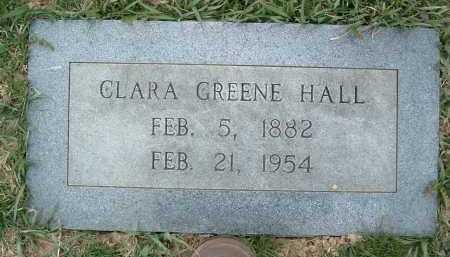 HALL, CLARA GREENE - Montgomery County, Virginia | CLARA GREENE HALL - Virginia Gravestone Photos