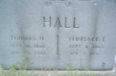 HALL, THOMAS H. - Montgomery County, Virginia | THOMAS H. HALL - Virginia Gravestone Photos