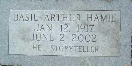 HAMIL, BASIL ARTHUR - Montgomery County, Virginia   BASIL ARTHUR HAMIL - Virginia Gravestone Photos