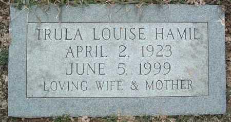 HAMIL, TRULA LOUISE - Montgomery County, Virginia | TRULA LOUISE HAMIL - Virginia Gravestone Photos