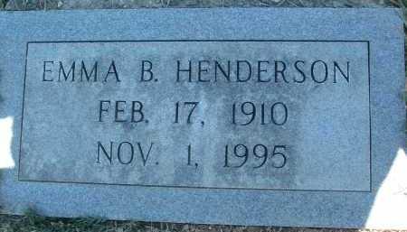 HENDERSON, EMMA B. - Montgomery County, Virginia   EMMA B. HENDERSON - Virginia Gravestone Photos