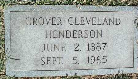HENDERSON, GROVER CLEVELAND - Montgomery County, Virginia | GROVER CLEVELAND HENDERSON - Virginia Gravestone Photos