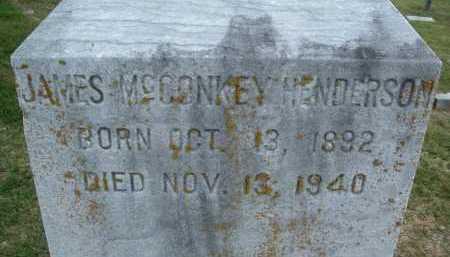 HENDERSON, JAMES MCCONKEY - Montgomery County, Virginia | JAMES MCCONKEY HENDERSON - Virginia Gravestone Photos