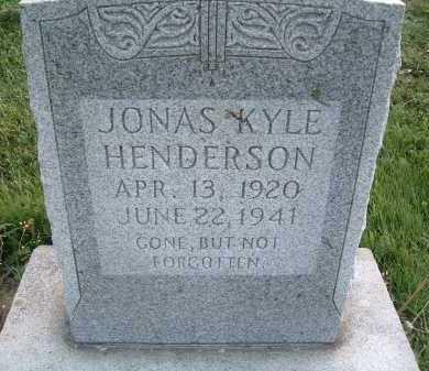 HENDERSON, JONAS KYLE - Montgomery County, Virginia | JONAS KYLE HENDERSON - Virginia Gravestone Photos