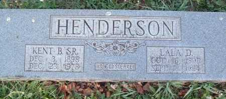 HENDERSON, KENT B. SR. - Montgomery County, Virginia | KENT B. SR. HENDERSON - Virginia Gravestone Photos