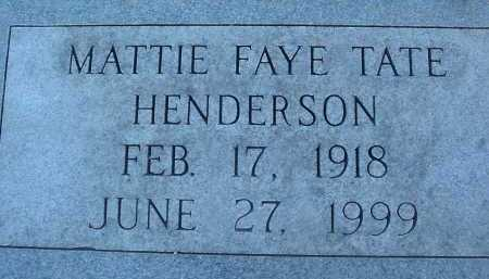HENDERSON, MATTIE FAYE - Montgomery County, Virginia | MATTIE FAYE HENDERSON - Virginia Gravestone Photos