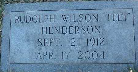 HENDERSON, RUDOLPH WILSON - Montgomery County, Virginia | RUDOLPH WILSON HENDERSON - Virginia Gravestone Photos