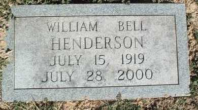 HENDERSON, WILLIAM BELL - Montgomery County, Virginia | WILLIAM BELL HENDERSON - Virginia Gravestone Photos