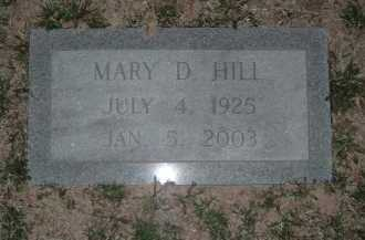 HILL, MARY D. - Montgomery County, Virginia | MARY D. HILL - Virginia Gravestone Photos
