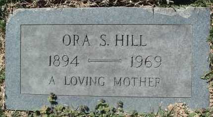 HILL, ORA S. - Montgomery County, Virginia | ORA S. HILL - Virginia Gravestone Photos