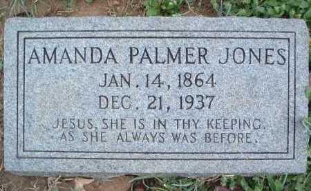 JONES, AMANDA - Montgomery County, Virginia   AMANDA JONES - Virginia Gravestone Photos