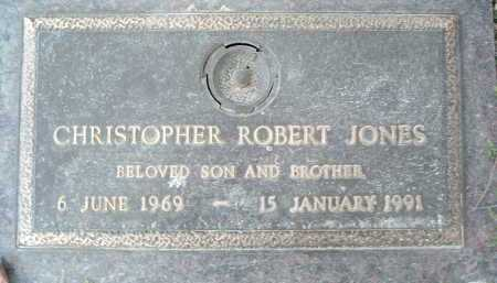 JONES, CHRISTOPHER ROBERT - Montgomery County, Virginia | CHRISTOPHER ROBERT JONES - Virginia Gravestone Photos