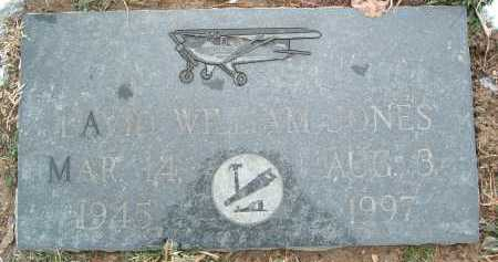 JONES, DAVID WILLIAM - Montgomery County, Virginia | DAVID WILLIAM JONES - Virginia Gravestone Photos